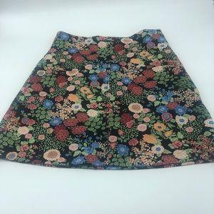 Zara skirt- floral A line